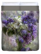 Easter Lilacs Duvet Cover
