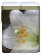 Easter Lily Duvet Cover
