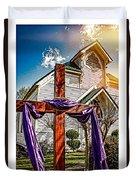 Easter Morning Duvet Cover