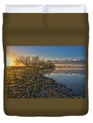 Easter Sunrise Duvet Cover