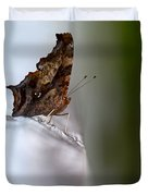 Eastern Comma Butterfly Duvet Cover