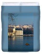 Eastern European Fishing Duvet Cover