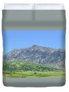 Eastern Sierra July Duvet Cover