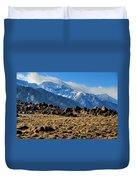 Eastern Sierras 2 Duvet Cover