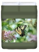 Eastern Tiger Swallowtail 2 Duvet Cover
