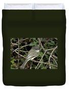 Eastern Wood Peewee Duvet Cover