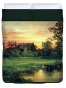 Easthampton Duvet Cover by Thomas Moran