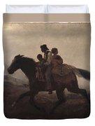 Eastman Johnson - A Ride For Liberty--the Fugitive Slaves 1862 Duvet Cover