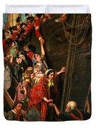 Eastward Ho Duvet Cover by Henry Nelson ONeil