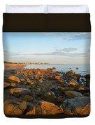 Ebb Tide On Cape Cod Bay Duvet Cover