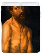 Ecce Homo Duvet Cover