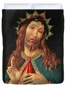 Ecce Homo Or The Redeemer Duvet Cover