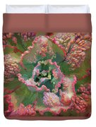 Echeveria Plant At Balboa Park 2 Duvet Cover