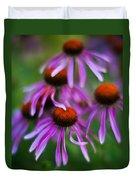 Echinacea Crowd Duvet Cover