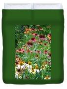 Echinacea Multi Mix Duvet Cover
