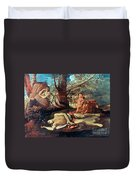 Echo And Narcissus Duvet Cover