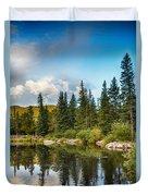 Echo Lake 2 Duvet Cover