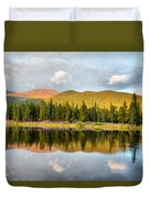 Echo Lake Painterly 1 Duvet Cover