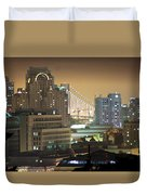 Echoes Of A City Duvet Cover