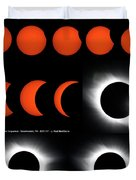 Eclipse Sequence Duvet Cover