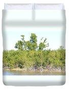 Eco Pond Duvet Cover