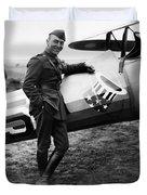 Eddie Rickenbacker - Ww1 American Air Ace Duvet Cover