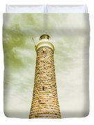 Eddystone Point Lighthouse Duvet Cover