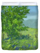 Edge Of Spring Duvet Cover by David King