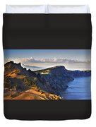 Edge Of The Crater Duvet Cover