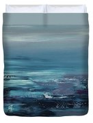 Edge Of The Deep Blue Sea Duvet Cover