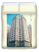 Edgewater Beach Hotel Duvet Cover