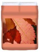 Edgy Leaves Duvet Cover