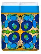 Edible Extremes Abstract Bliss Art By Omashte Duvet Cover