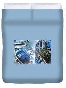 Edificios De Caracas Duvet Cover