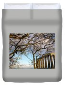 Edinburgh - Caption Hill Trees Duvet Cover