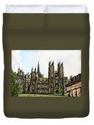 Edinburgh Architecture 3 Duvet Cover