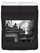 Edinburgh Black And White Duvet Cover