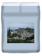 Edinburgh Castle View #3 Duvet Cover