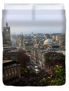 Edinburgh Princess Street Duvet Cover
