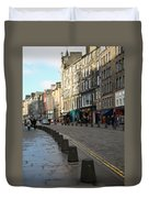 Edinburgh Royal Mile Street Duvet Cover