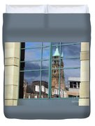 Edinburgh Self Interpreted  Duvet Cover