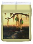 Edisto Island Glass Floats Duvet Cover