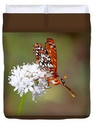 Edith's Checkerspot Five Duvet Cover