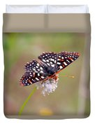 Edith's Checkerspot Three Duvet Cover
