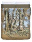 Edouard Vuillard Cuiseaux 1868-1940 La Baule The Park In Clayes. 1932-1938. Duvet Cover