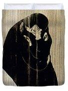 Edvard Munch: The Kiss Duvet Cover