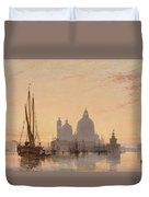 Edward William Cooke Venezia 1851 Duvet Cover