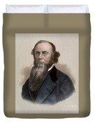 Edwin M. Stanton Duvet Cover