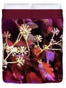 Efeu Ivy Vines Pink Duvet Cover