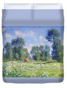 Effect Of Spring At Giverny Duvet Cover